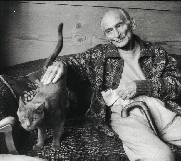 Balthus par  Henri Cartier - Bresson © Coll.Part.