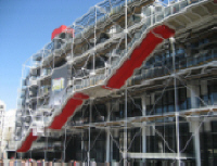 PARIS :  Centre National d'Art et de Culture Georges Pompidou -  Photo Wikimedia