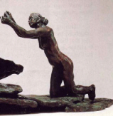 "Camille Claudel : "" La Suppliante "" 1894 - Bronze -  Coll. part."
