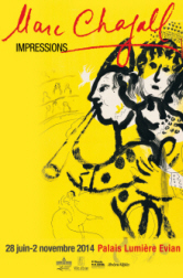 "Exposition "" Marc Chagall - Impressions "" - Palais Lumire - Evian"