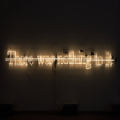 "Joseph Kosuth : "" There was nohting to it"" -1988 - � Bildrecht - Vienne 2014"