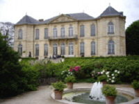 Paris : Muse Rodin - Hotel Biron vu des Jardins - (c)  Photo L.B.