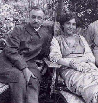 Félix Vallotton et Gabrielle en 1911 à Honfleur © Archives Vallotton Lausanne