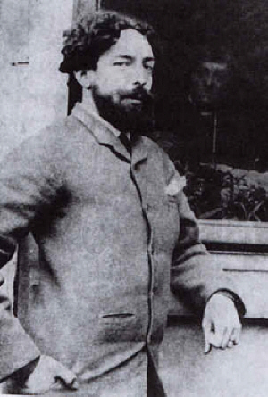 James Ensor  en 1889  - (c) Coll.Part.